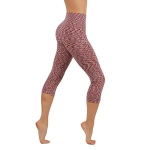 Dry-Fit Pants Workout Two Tone Leggings Cf/Yl64-nf